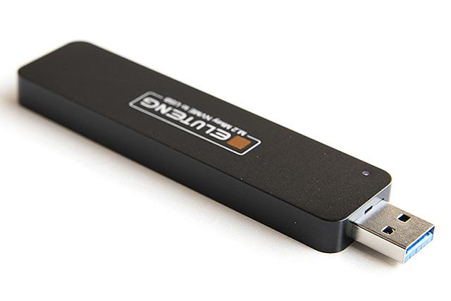 SSD M.2 を USB3.0 メモリへ変身